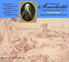 SCARLATTI: COMPLETE KEYBOARD SONATAS, VOL. 4 NEW CD