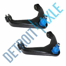 Both (2) New Front Upper Control Arm w/Ball Joint Assembly for Sierra - 8-Lug