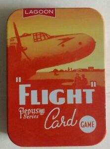 NEW FLIGHT CARD GAME - A PEPYS CLASSIC FROM LAGOON GAMES - IN PRESENTATION TIN