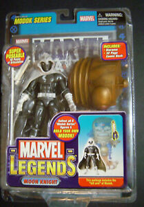 Marvel Legends ToyBiz Action Figure Modok Series MOON KNIGHT Black Variant MOC