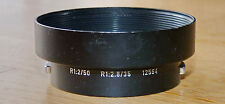 Leica Leitz  12564 Hood for R35/2,8 R50/2 Sonnenblende , Metall, second hand