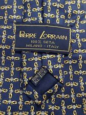 Recent PIERRE LORRAIN MILANO Silk Tie M. I. Italy