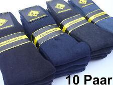 10 Paar Arbeitssocken Socken Strümpfe 43 44 45 46 schwarz  Herrensocken Neuware