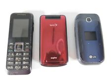 Cellphone Lot of 3 Samsung Lg and more