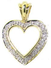 Wedding Yellow Gold Fine Diamond Necklaces & Pendants