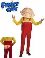 Adult/Teen Mens Family Guy Baby Stewie Griffin Costume M/L