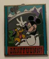 Adventures by Disney - Glacier National Park - Banffuunn - Mickey & Pluto Pin