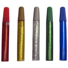Creation Station 30 Glitter Glue Pens 12 ml,Red,Green,Blue,Gold,Silver CT2065