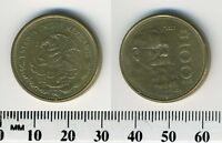 Mexico 1985 - 100 Pesos Aluminum-Bronze Coin - V. Carranza