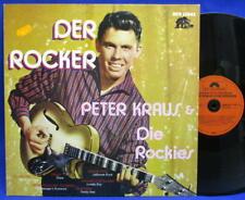 LP PETER KRAUS - DER ROCKER / ELVIS COVERVERS. SONDERAUFL. BEAR FAM. ROCK'N'ROLL