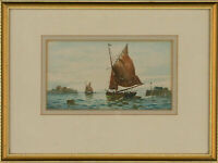 Henry Harding Bingley (1877-1972) - Early 20th Century Watercolour, Fishing Boat