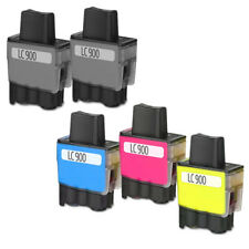 5 COMPATIBLES BROTHER LC 900 LC900 DCP-110 DCP-110C DCP-115 DCP-115C DCP-120