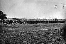 New 5x7 Civil War Photo: Men of 3rd Pennsylvania Heavy Artillery at Fort Monroe
