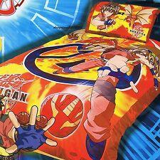 Bakugan - Red Ball - Single/US Twin Bed Quilt Doona Duvet Cover Set