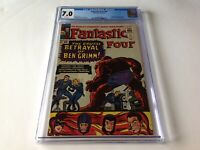 FANTASTIC FOUR 41 CGC 7.0 WHITE PAGES FRIGHTFUL FOUR MARVEL COMICS