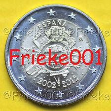 Spanje - Espagne - 2 euro 2012 comm.(10 jaar euro cash)