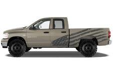 Custom Vinyl Decal PATRIOT Wrap Kit for Dodge Ram 1500/2500 Truck 2002-2008 GRAY