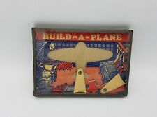 VINTAGE TIN LITHO BUILD-A-PLANE  DEXTERITY PUZZLE