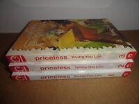 Priceless Vol. 1-3 Manhwa Manga Graphic Novel Book Complete Lot in English