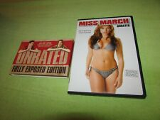 MISS MARCH ( DVD, 2009, Unrated - Fully Exposed Edition) Raquel Alessi