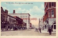 MAIN ST. LOOKING NORTH FROM Fifth, LITTLE ROCK, ARK.