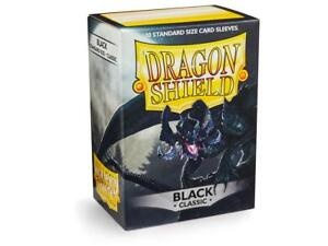 Classic Black 100ct Dragon Shield Sleeves Standard Size FREE SHIPPING 10% OFF 2+