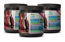 creatine strength formula GERMAN CREATINE 300G 60 SERVINGS replensish ATP 3 Cans