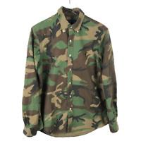 Ralph Lauren Men's Button Down Shirt Size M Multicolor Camouflage Long Sleeve