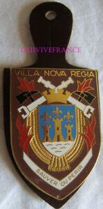 IN13408 - Insigne VILLENEUVE sur YONNE, 89, VILLA NOVA REGIA