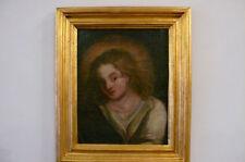 """Quadro Dipinto olio su tela santo """"san giovanni evangelista"""" periodo '600"""