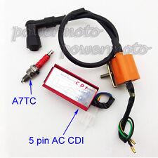 Racing Ignition Coil AC CDI Spark Plug For 50 70 90 110cc Loncin Taotao ATV Quad