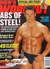 "MEN'S WORKOUT MAGAZINE FEBRUARY 2005 -""THE MEN OF VH1's MANHUNT"""