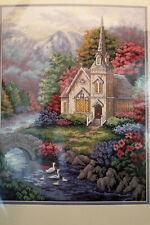 Tranquil Church Needlepoint Kit Nicky Boehme Nip Dreamy Scene! Dimensions 12x16