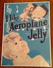 Aeroplane Jelly Metal Tin Sign Plaque Advertising, Kitchen