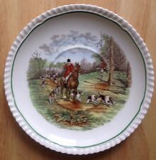 "1956 COPELAND SPODE PLATE, 7"" DIAMETER, THE HUNTSMAN FOX HUNT SCENE"