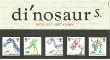 Dinosaurs 1991 Owens Dinosauria 1841 Royal Mail Mint Stamps Pack 220 - U3269