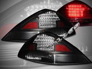 03 04 05 ACCORD 2D/2DR JDM BLACK LED TAIL LIGHTS LAMPS