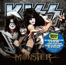 Monster by Kiss (CD, Oct-2012, Universal) BRAND NEW SEALED SMALL CRACK IN CASE