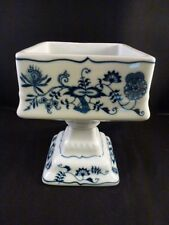 Blue Danube SQUARE COMPOTE  PEDESTAL BOWL   PERFECT FOR NUTS