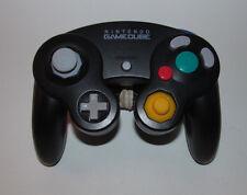 Official Original Gamecube Controller Black Original Nintendo OEM Genuine Wii