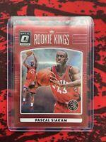 2016-17 Donruss Optic Rookie Kings Red Prizm #22 Pascal Siakam (#ed 11/99)