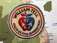AIR FORCE SQUADRON PATCH USAF WILLIAM TELL 1982 TEAM TELEDYNE RYAN