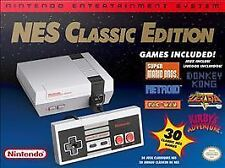 NEW Nintendo NES Classic Edition Mini Console 30 Games Metroid Zelda Mario Bros