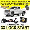 2014-2016 Chevy Silverado Plug & Play Remote Start System Simple Chevrolet GM7