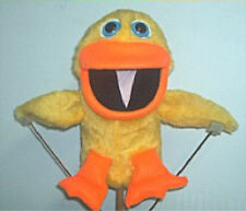 Yellow or White Duck Ventriloquist Puppet w/ script ideas-Your choice