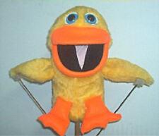 Yellow or Blacklight White Duck Ventriloquist Puppet w/ script ideas