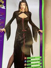 Women's Midnight Vampire Costume Ladies Vampire Halloween Fancy Dress Costume 12