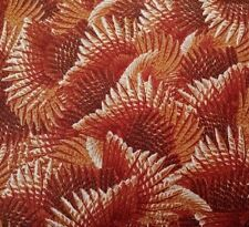 Wild Pheasants Hautman Brothers Quilting Treasures BTY Feathers Rust Brown