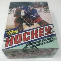 1981-82 TOPPS NHL Hockey BBCE Sealed Trading Card BOX 36 Unopened Wax PACKS New!