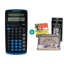 TI 30 ECO RS Taschenrechner + GeometrieSet und MatheFritz Lern-CD